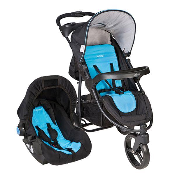 Coche-4-en-1-con-Silla-Sport-Azul-con-Negro