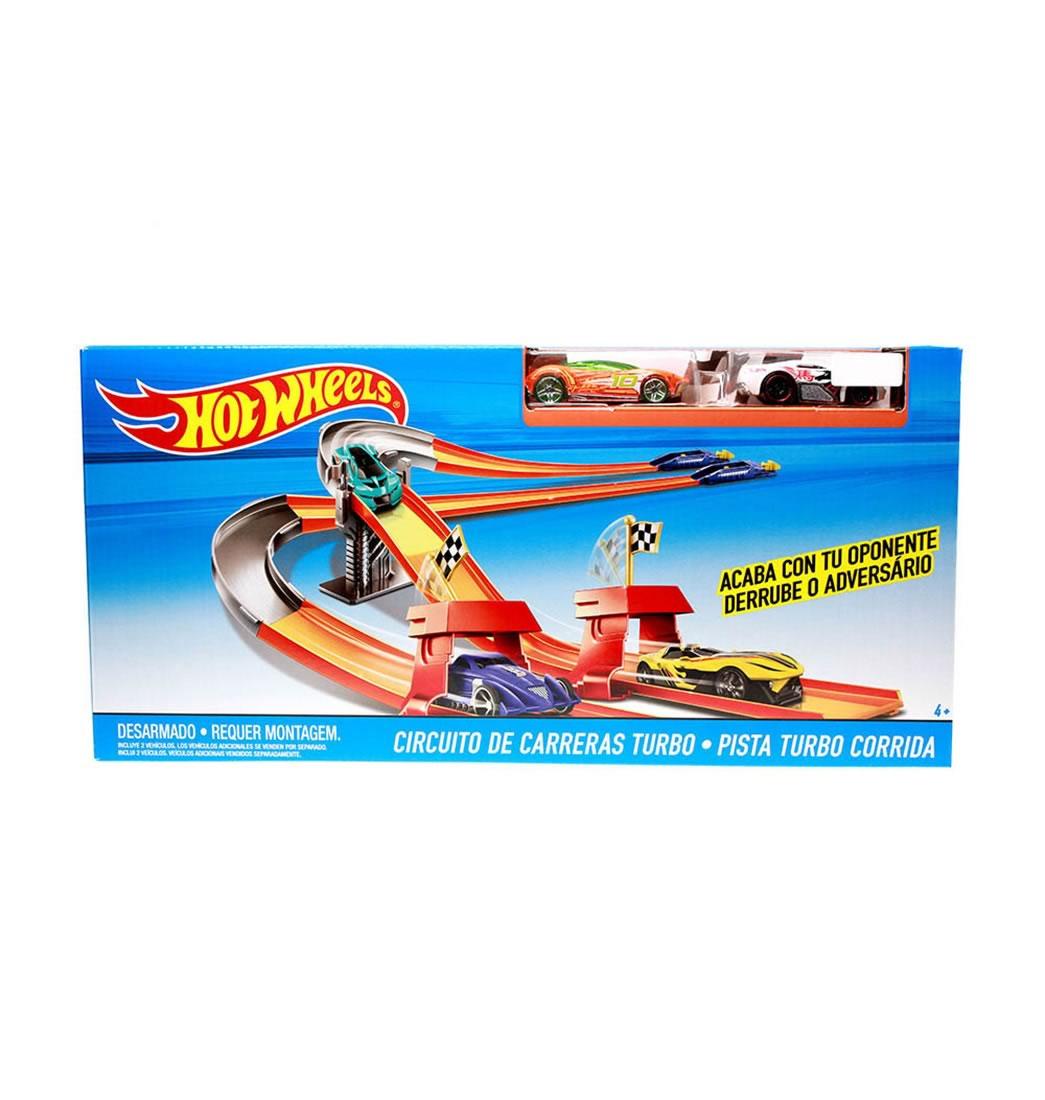 Circuito Hot Wheels : Hotwheels circuito de carreras turbo hot wheels pepe ganga