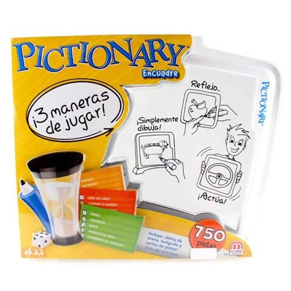 Pictionary Encuadre Pictionary - Pepe Ganga - pepeganga