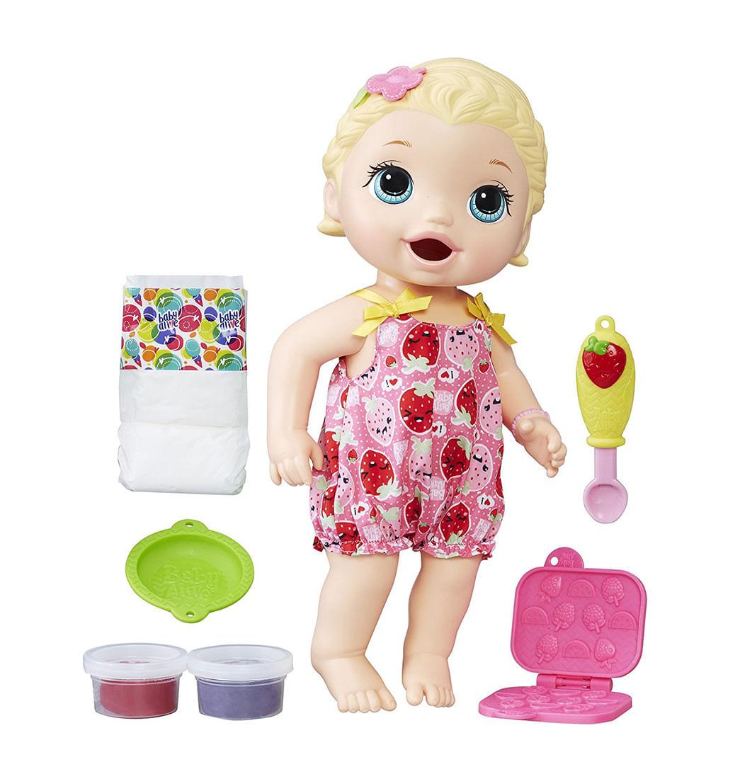 89bd604e7c Muñeca Lili Hora de Comer · Baby Alive. Precio Online