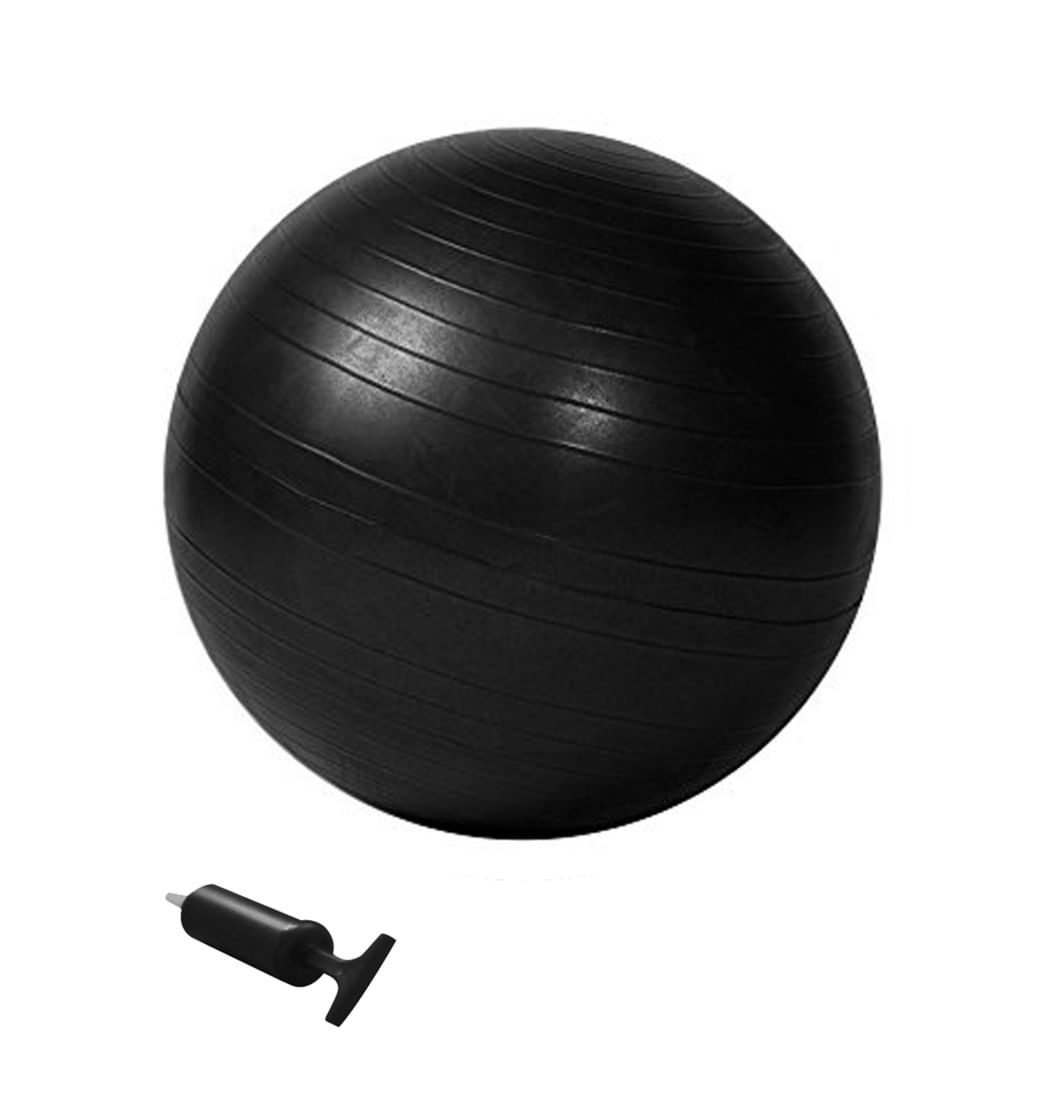 Balón Pilates Negro 65 Cm Evolution - Pepe Ganga - pepeganga abe9d080e863
