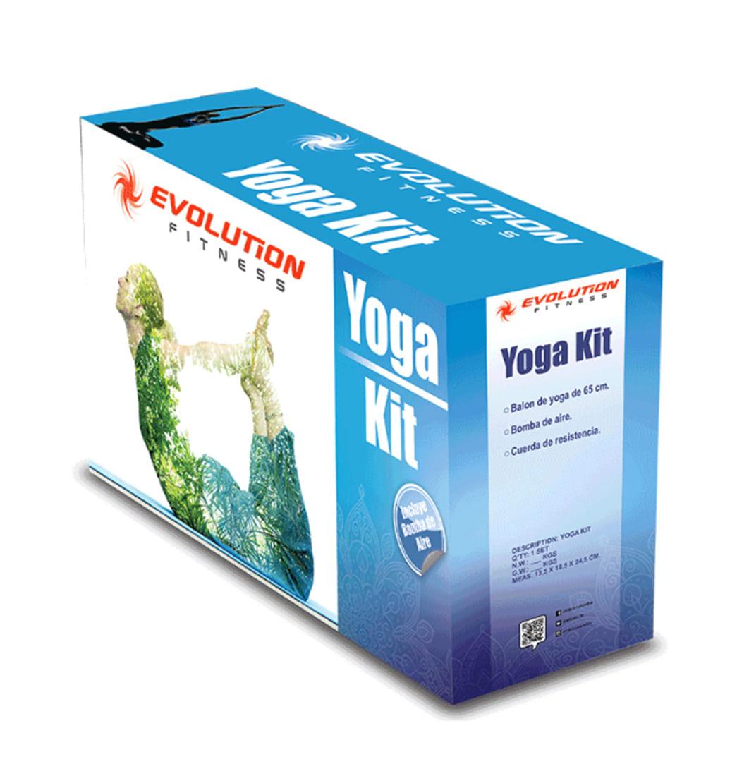 Kit De Yoga Evolution - Pepe Ganga - pepeganga a067c593cd7b