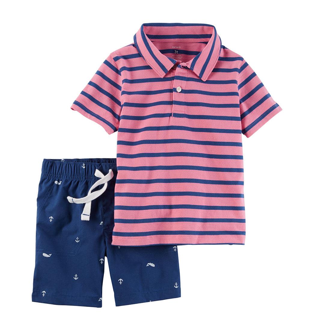 dd7e0a9143 Set camiseta y short - Infantil · Carter s