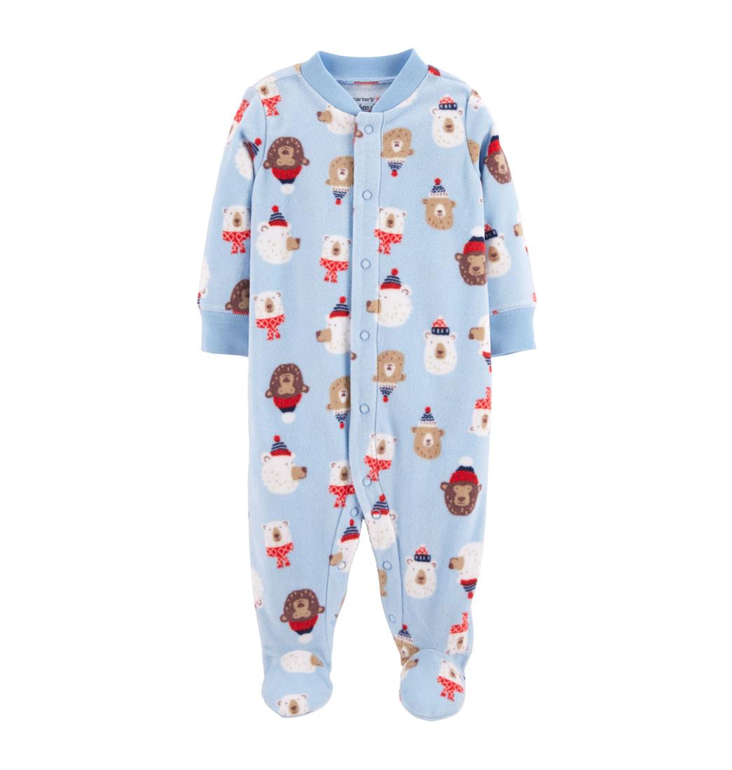 c897316ad0 Pijama Enteriza Estampado Ositos - Bebés