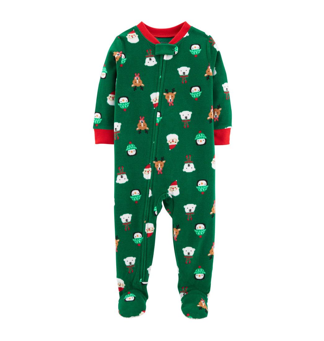 192ffbcaf3 Pijama Enteriza Estampado Navidad - Bebés
