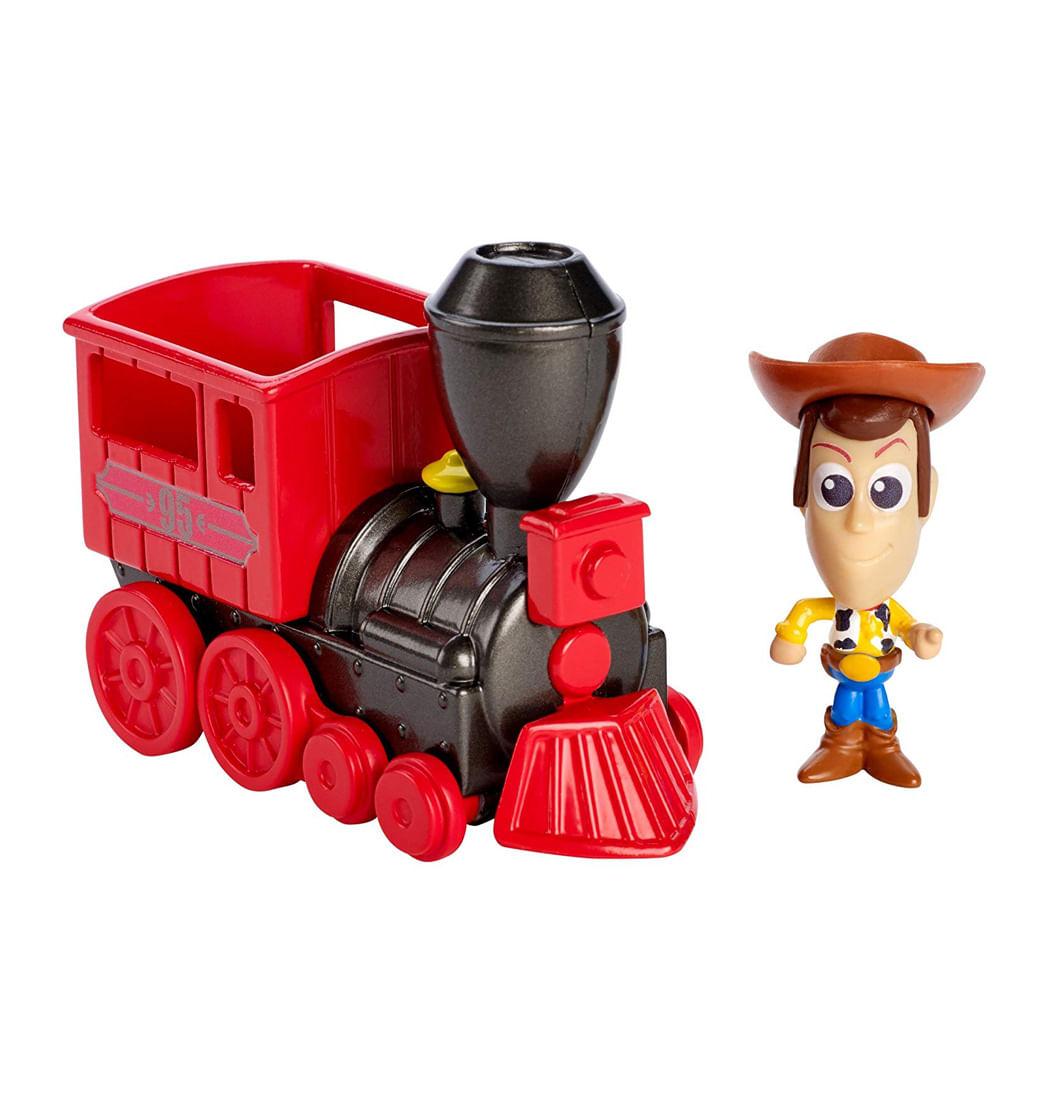 Mini Figura Woody y Tren del Lejano Oeste · Toy Story fa249489ec9