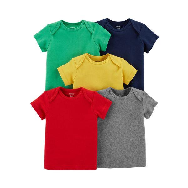 193f31ee0e Set 5 Camisetas Manga Corta - Bebés