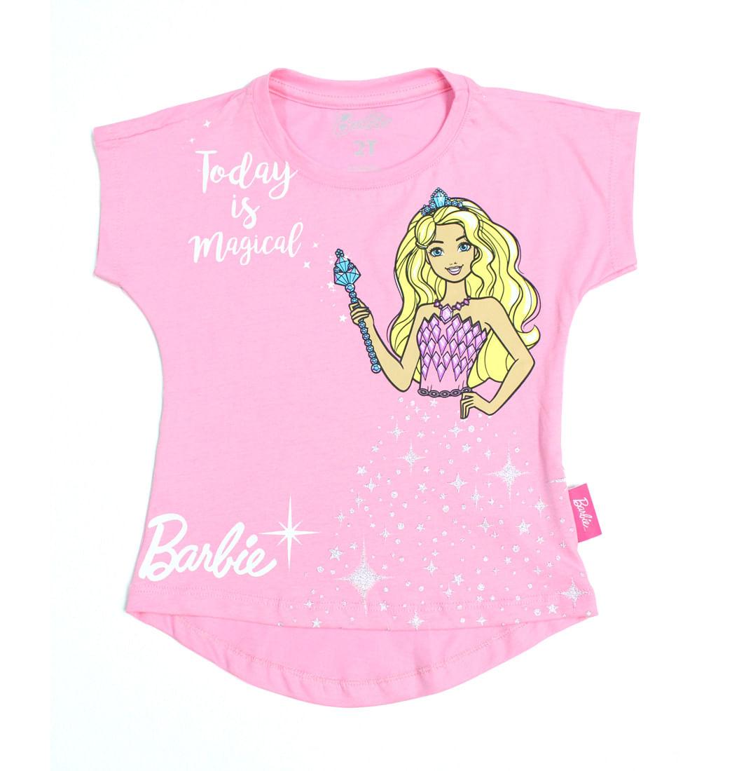 1d78f79190 Camiseta Manga Corta - Niñas Barbie - Pepe Ganga - pepeganga