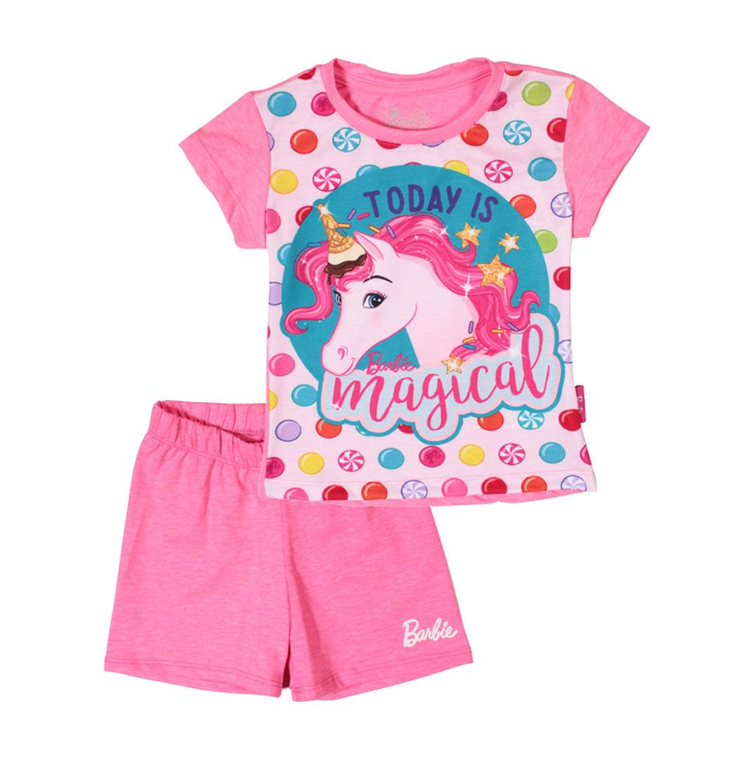 30bd36238c Pijama 2 Piezas - Niñas Barbie - Pepe Ganga - pepeganga