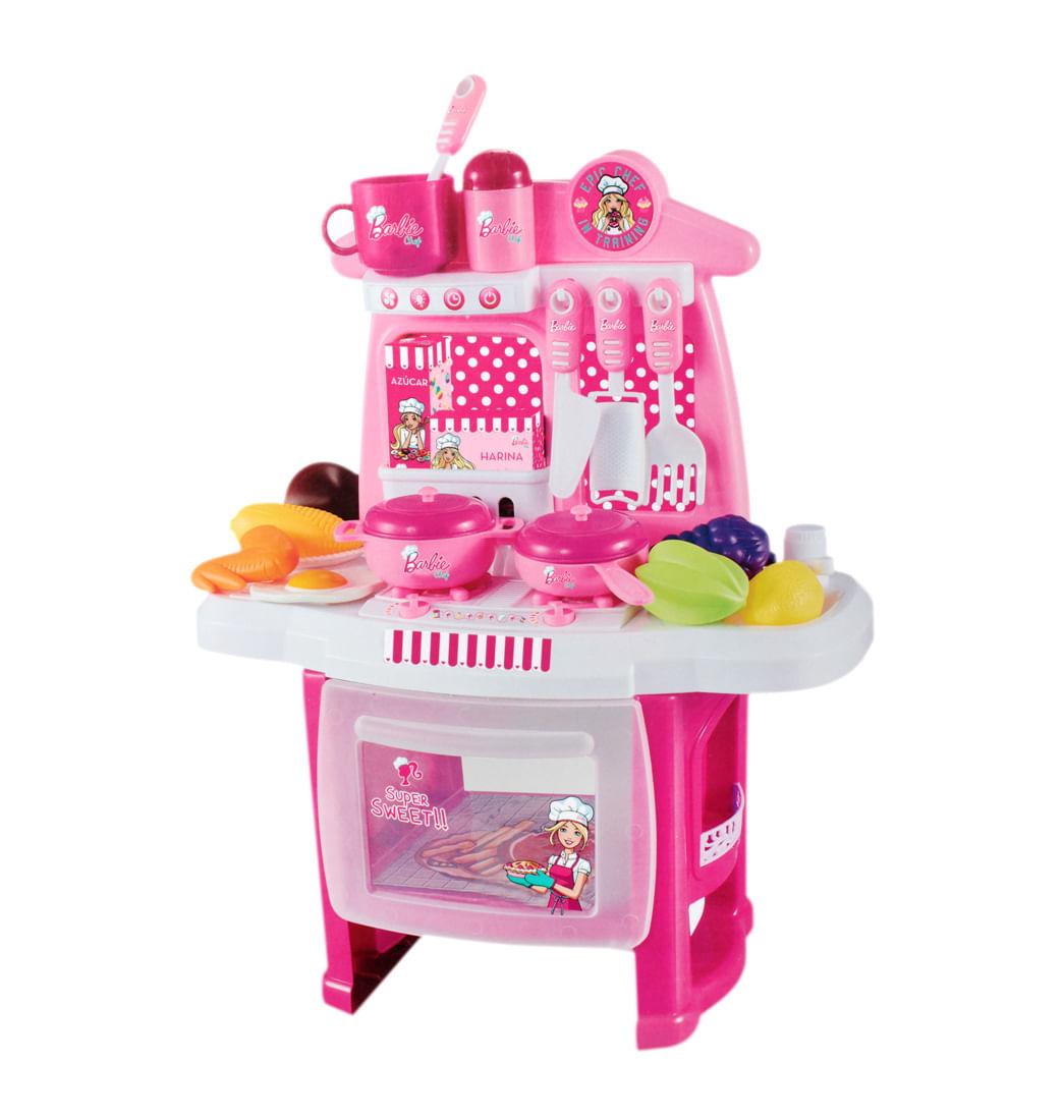 Jugueteria Juegos De Rol Cocina Barbie Pepeganga