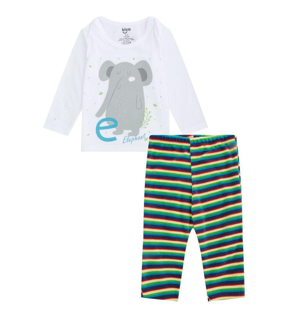 Set 2 Piezas Pijama Camiseta Y Pantalon Nino Pepeganga